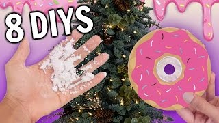 8 Christmas DIY Ideas you've NEVER Thought of!