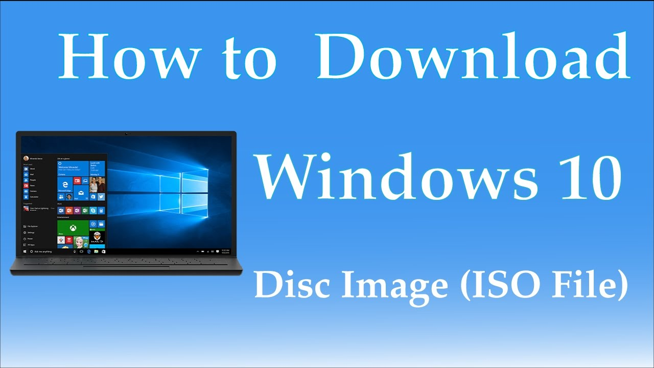 How to: create a bootable iso file from your windows 10 download.