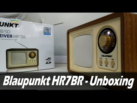Blaupunkt Radio HR7BR - Unboxing & Test [HD]