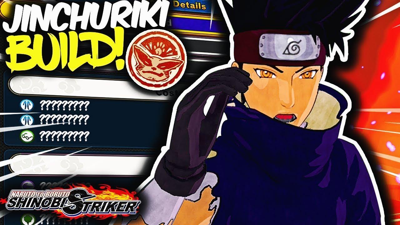 The ULTIMATE Jinchuriki Attack Type Build! | Naruto To Boruto Shinobi  Striker