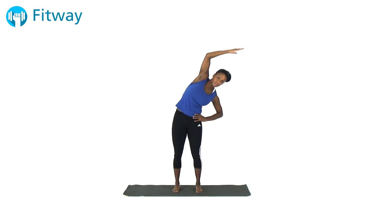 How To Do: Latissimus Dorsi - Standing Side Single Arm ...