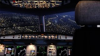FSX 2016 - Extreme Realistic NIGHT COCKPIT DX10 [ULTRA HD]