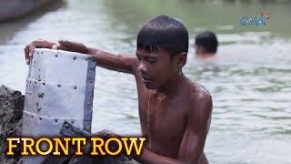 Front Row: Ilang kabataan, sumisisid sa Davao River para magmina ng buhangin