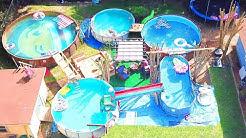 Backyard Full of Pools