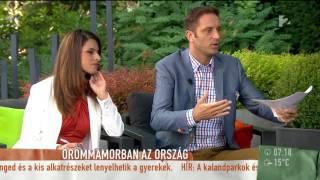 Vicces! Koós megilletődött a strandoló Puskás Öcsitől - tv2.hu/mokka