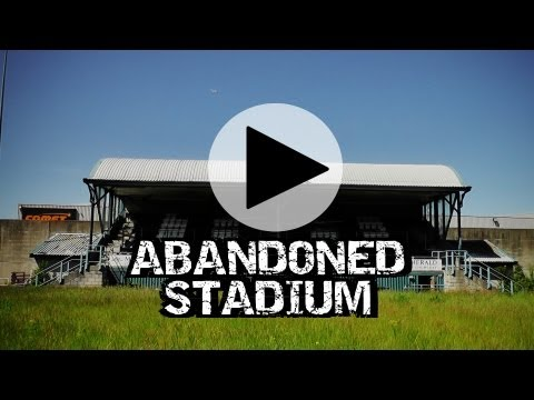 Abandoned Football Stadium Firs Park HD - Urbex Derelict Explore Abandoned Scotland