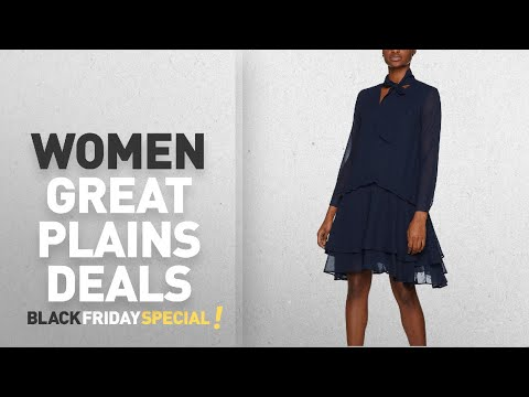 Black Friday Women Great Plains Deals: Great Plains Women's Tatiana Woven Dress