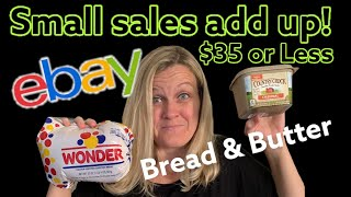 36 Bread and Butter BOLOs What Sold on ebay for $35 or less Small Sales add up to Big Profits