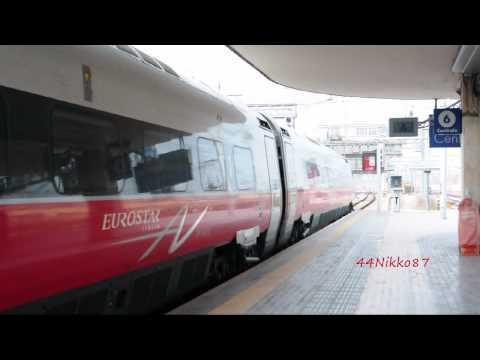 ES* Venezia - Roma ETR600 Frecciargento + Foto EC LeNord A Bologna Centrale (HD)