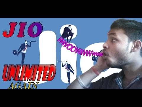 Jio unlimited offer again-summer package hurray