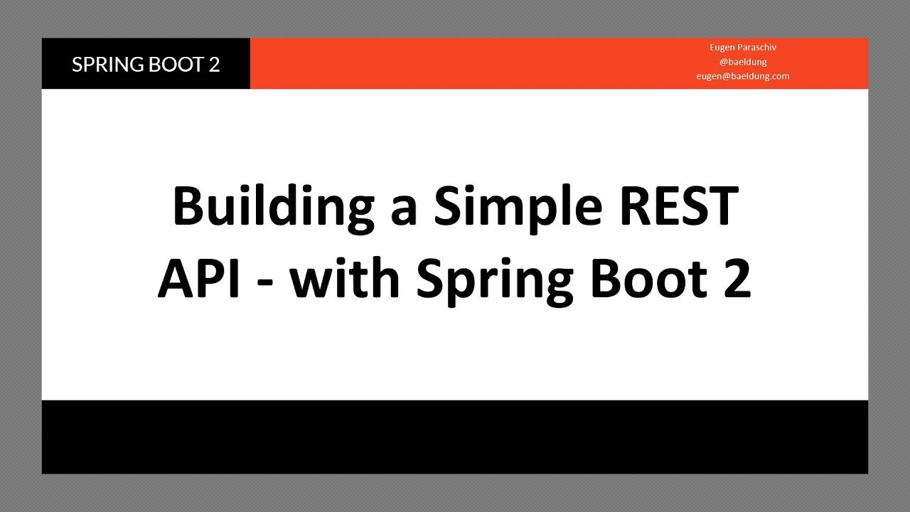 Introduction to Spring Data REST | Baeldung