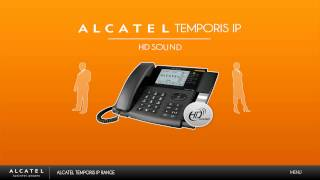 HD Sound for Alcatel Temporis IP Phones