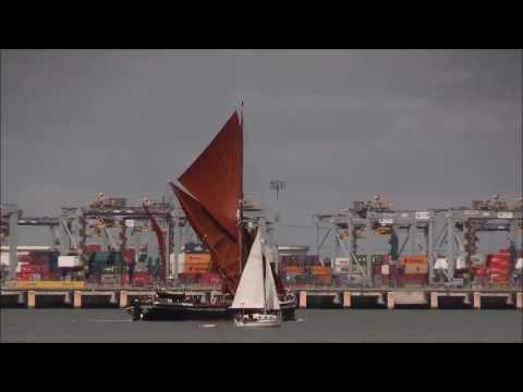 HYDROGEN  Sailing Barge 06/08/17, Thames Shipping by R.A.S.