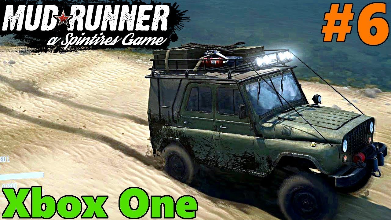 spintires mud runner xbox one let 39 s play part 6 welcome. Black Bedroom Furniture Sets. Home Design Ideas
