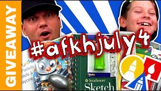 July 4th Art Supply Giveaway