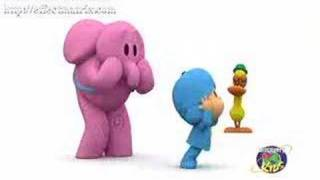 Pocoyo goes outta space