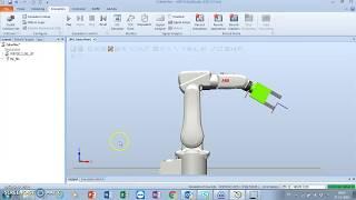 إنشاء آلية القابض Abb robotstudio