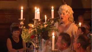 Pasta Opera im Spiegelsaal, 1. Akt