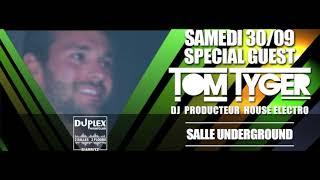 Tom Tyger & Discodena 30 septembre 2017 Duplex Nightclub Biarritz