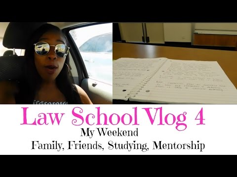 Law School Vlog 4| The weekend of a Law Student