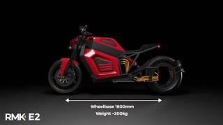 RMK E2   уникальный электромотоцикл с безосевым моторколесом