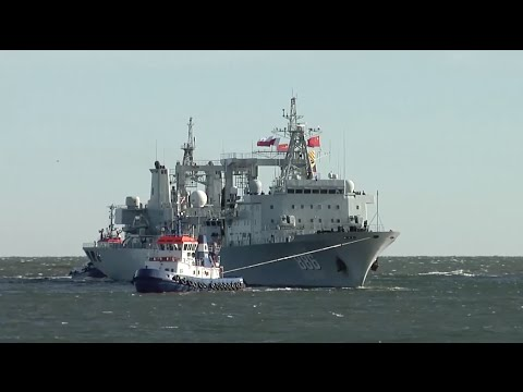 China Warships Dock in Poland in First Ever Visit