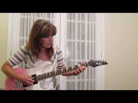 Somewhere Over the Rainbow Eva Cassidy Guitar Tutorial Part 1