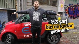 İstanbul'da yüzde 100 elektrikli otomobil kullanmak! Smart EQ Fortwo inceleme