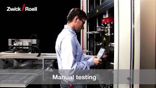 Tensile Test on Plastics + Metals, Automated (roboTest L)