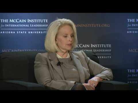 The Global Leadership Symposium: Leadership Discussion With Mrs. Cindy McCain