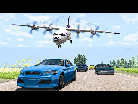 Airplane Crashes #13 - BeamNG DRIVE | SmashChan