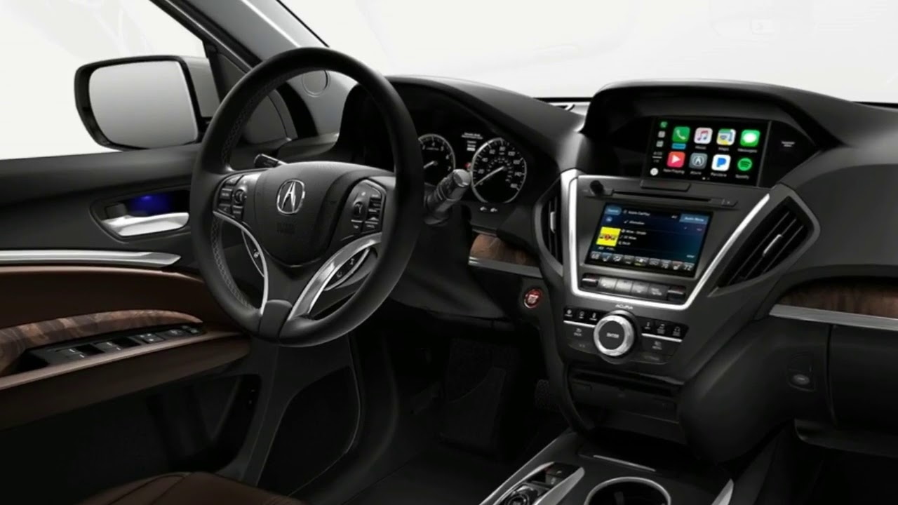 Acura Mdx 2018 Sport Hybrid 3rd Row Luxury Suv Interior Redesign