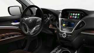 Acura MDX 2018  Sport Hybrid  - 3rd Row Luxury SUV - INTERIOR REDESIGN