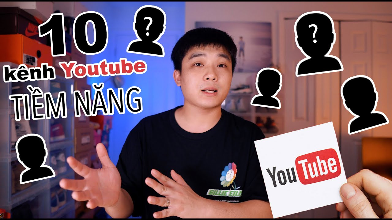 Top 10 kênh YOUTUBE tiềm năng về SNEAKER - Underrated Youtube channels!