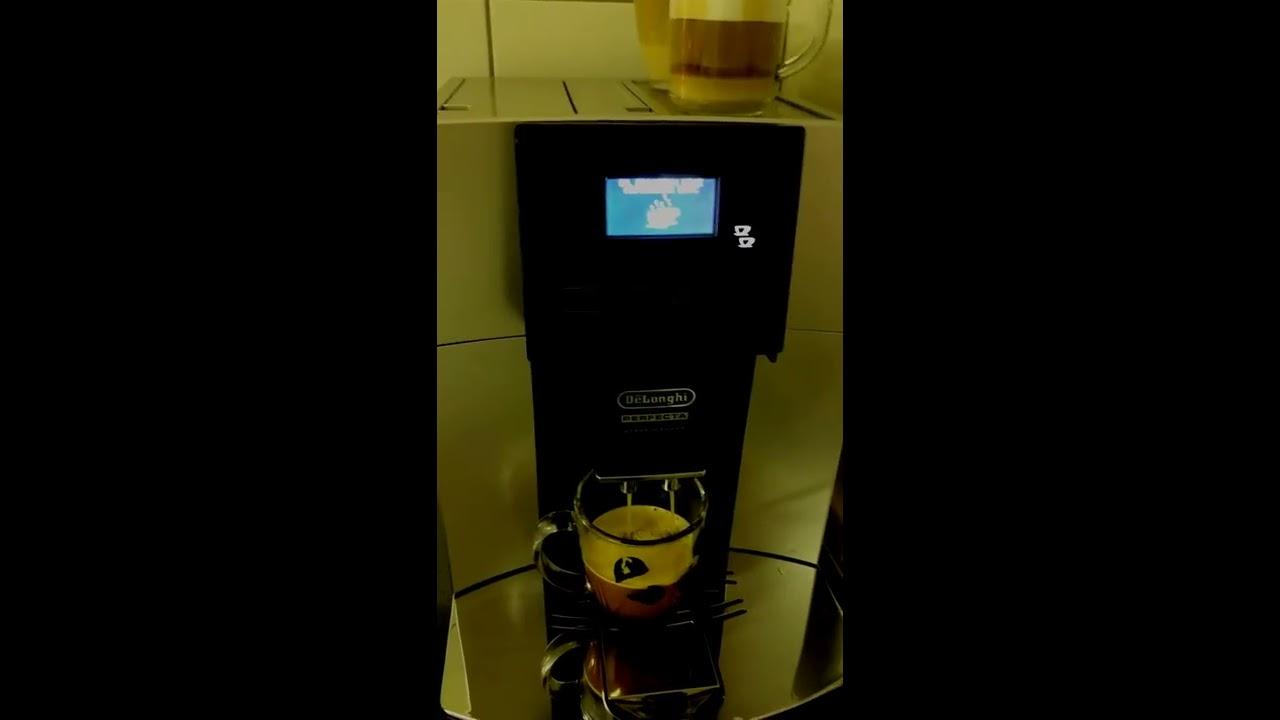 de 39 longhi kaffeevollautomat perfecta esam 5708 youtube. Black Bedroom Furniture Sets. Home Design Ideas