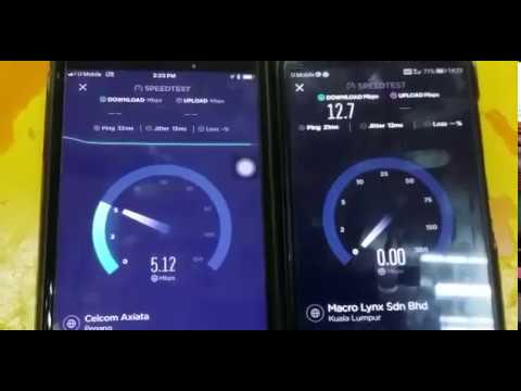 Mamak Talk : Umobile Postpaid Plan P48 vs GX50 Speed Test