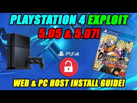 PLAYSTATION 4 EXPLOIT 5.05 & 5.07! MIRA HEN WEB & PC HOST INSTALL GUIDE!
