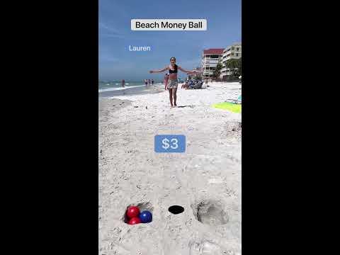 Beach Money Ball!!💵🌊💵