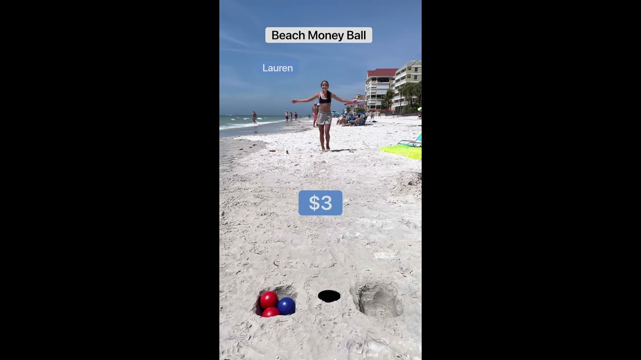 Beach Money Ball!!💵🌊💵
