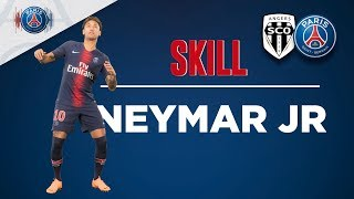SKILL/GESTE TECHNIQUE - ANGERS vs PARIS SAINT-GERMAIN - NEYMAR JR