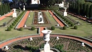 Travel to Israel. Part 14: Bahai Gardens. / Путешествие в Израиль. Часть 14:  Бахайские сады.(January 2016. Hello to all my friends. I am in Israel. You watched the thirteen parts of a series of videos about my stay in Israel. We, my dear friends, traveled to ..., 2016-02-10T20:13:34.000Z)