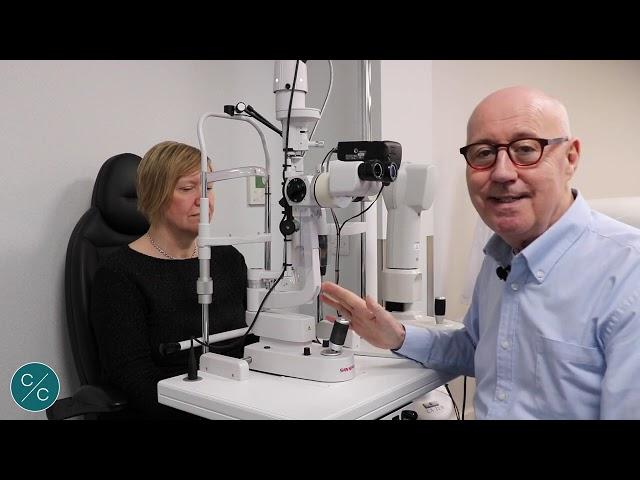 Avaliação da lente escleral e adaptação do livramento