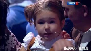طفلة روسية4 سنوات  تتحدث 7 لغات منها العربيه    قناهRussia 1  HD