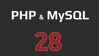 Урок 28 - phpMyAdmin, создание базы данных