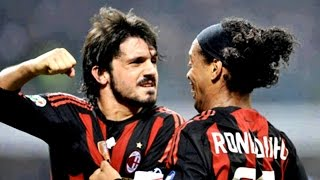 Ronaldinho vs Gattuso Funny Fight