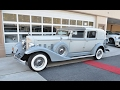 1933 Packard limo rental for NYC