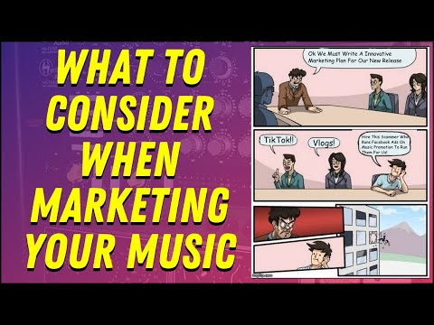 How To Write A Music Marketing Plan That Works