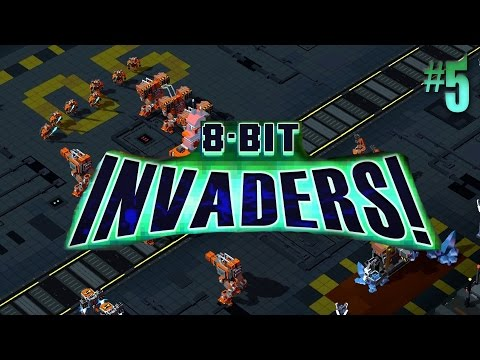 8-Bit Invaders: Marines #5 Cliff Jumping & Brain Worms