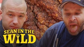 Download Sean Evans Eats L.A.'s Spiciest Fried Chicken with Brian Redban | Sean in the Wild Mp3 and Videos
