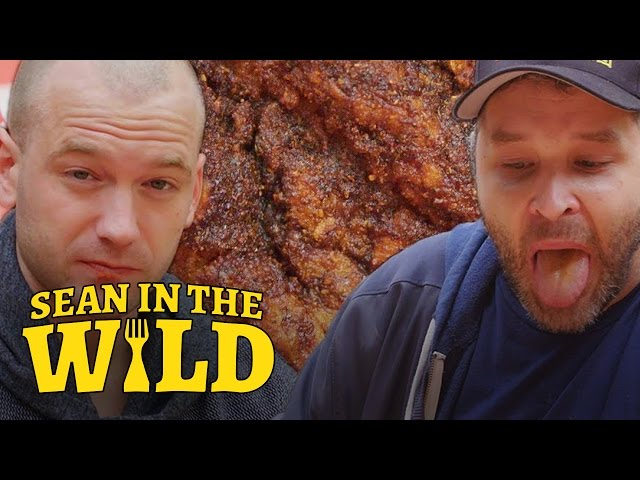 Sean Evans Eats L.A.s Spiciest Fried Chicken with Brian Redban | Sean in the Wild